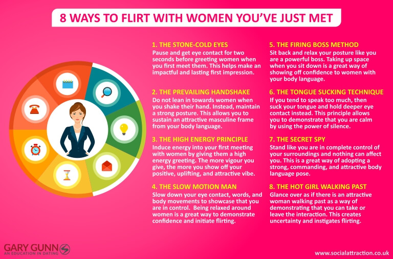 8 ways to initiate flirting and avoid being labelled as the nice guy