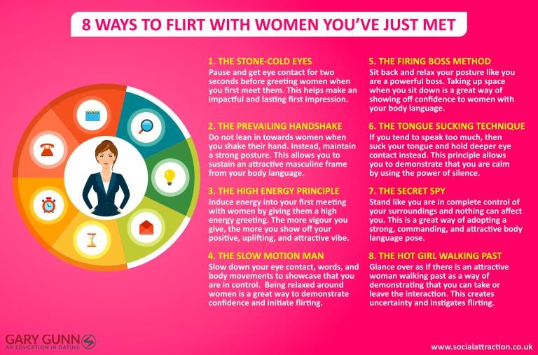 8 ways to speak to women and initiate flirting