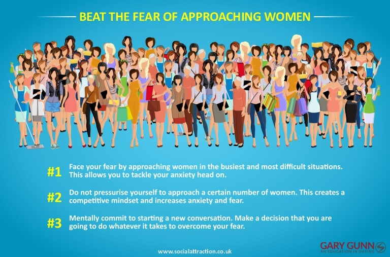 3 ways to help overcome approach anxiety and speak to women