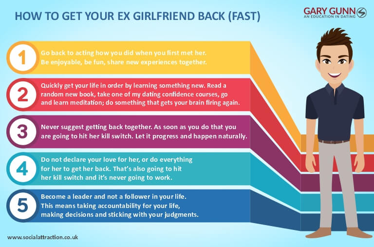 5 invaluable ways to develop yourself and get back together with your ex-girlfriend