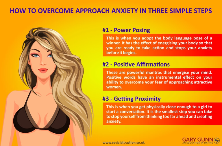 3 ways to help diminish anxiety when approaching women