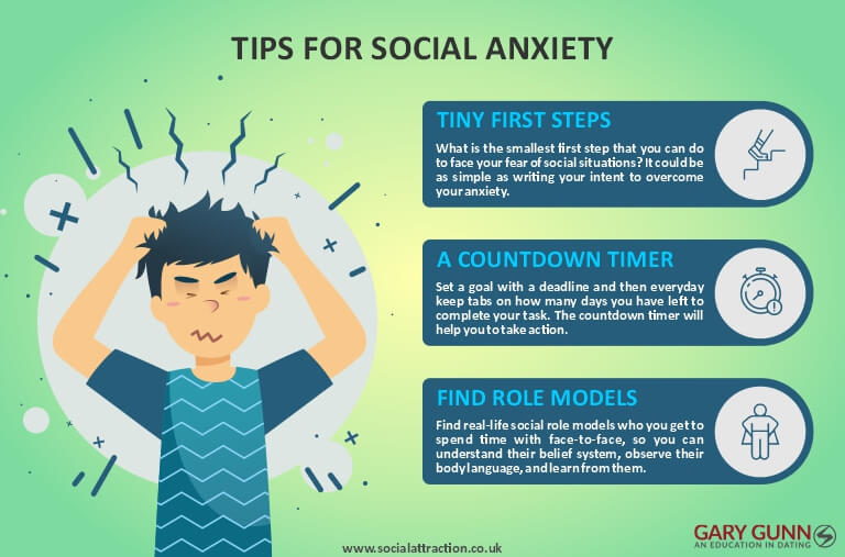 3 tips to help overcome social anxiety