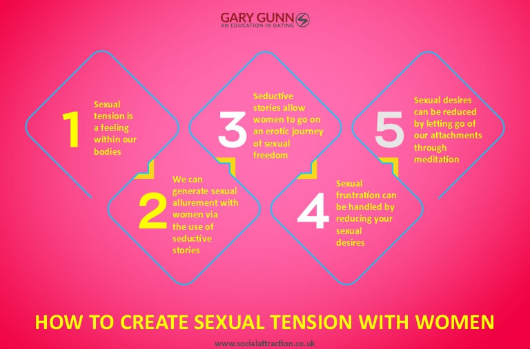 Five different ways to create sexual tension with women