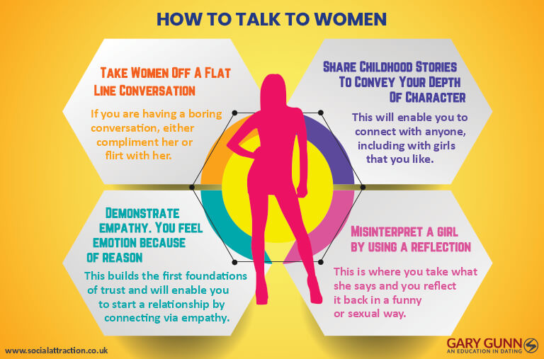 4 expert ways to talk to women
