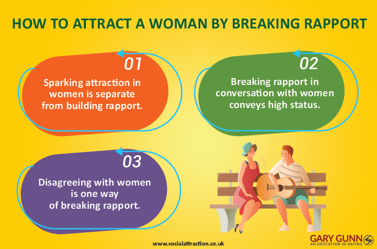 3 ways to break rapport with women and create healthy boundaries